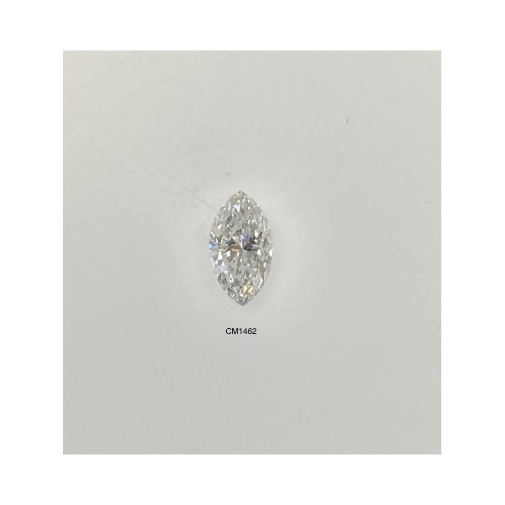 0.45 Carat Marquise Loose Diamond, G, SI2, Very Good, AGS Certified