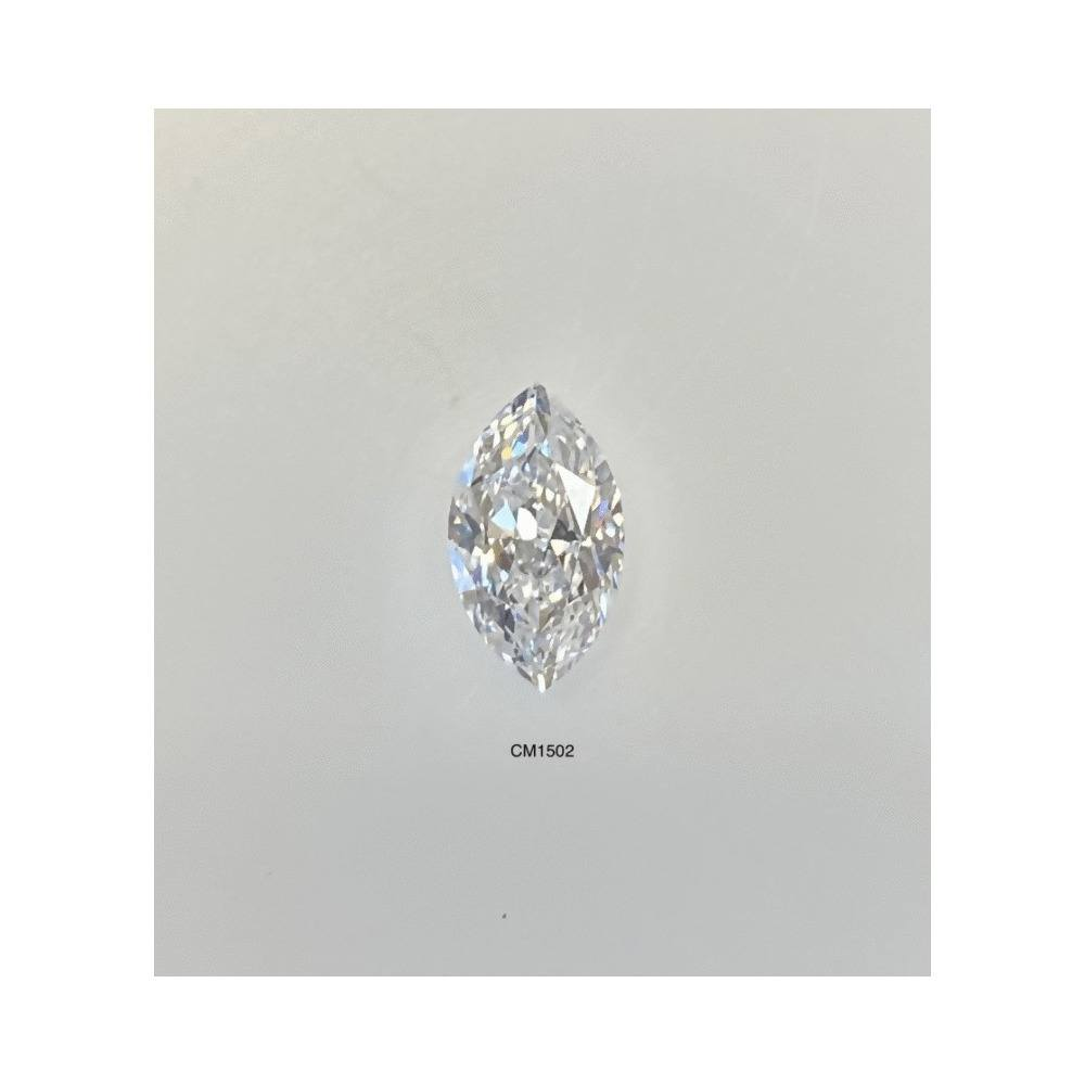 0.71 Carat Marquise Loose Diamond, E, SI2, Excellent, AGS Certified
