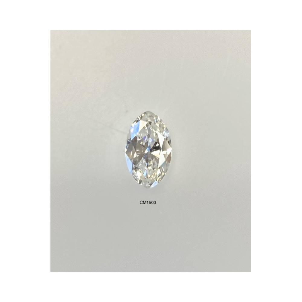 0.64 Carat Marquise Loose Diamond, I, SI1, Excellent, AGS Certified