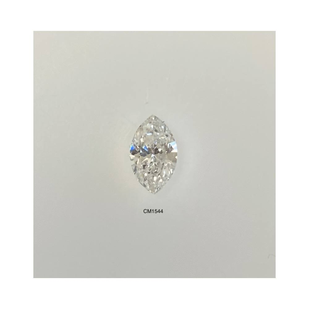 0.46 Carat Marquise Loose Diamond, H, I1, Excellent, GIA Certified