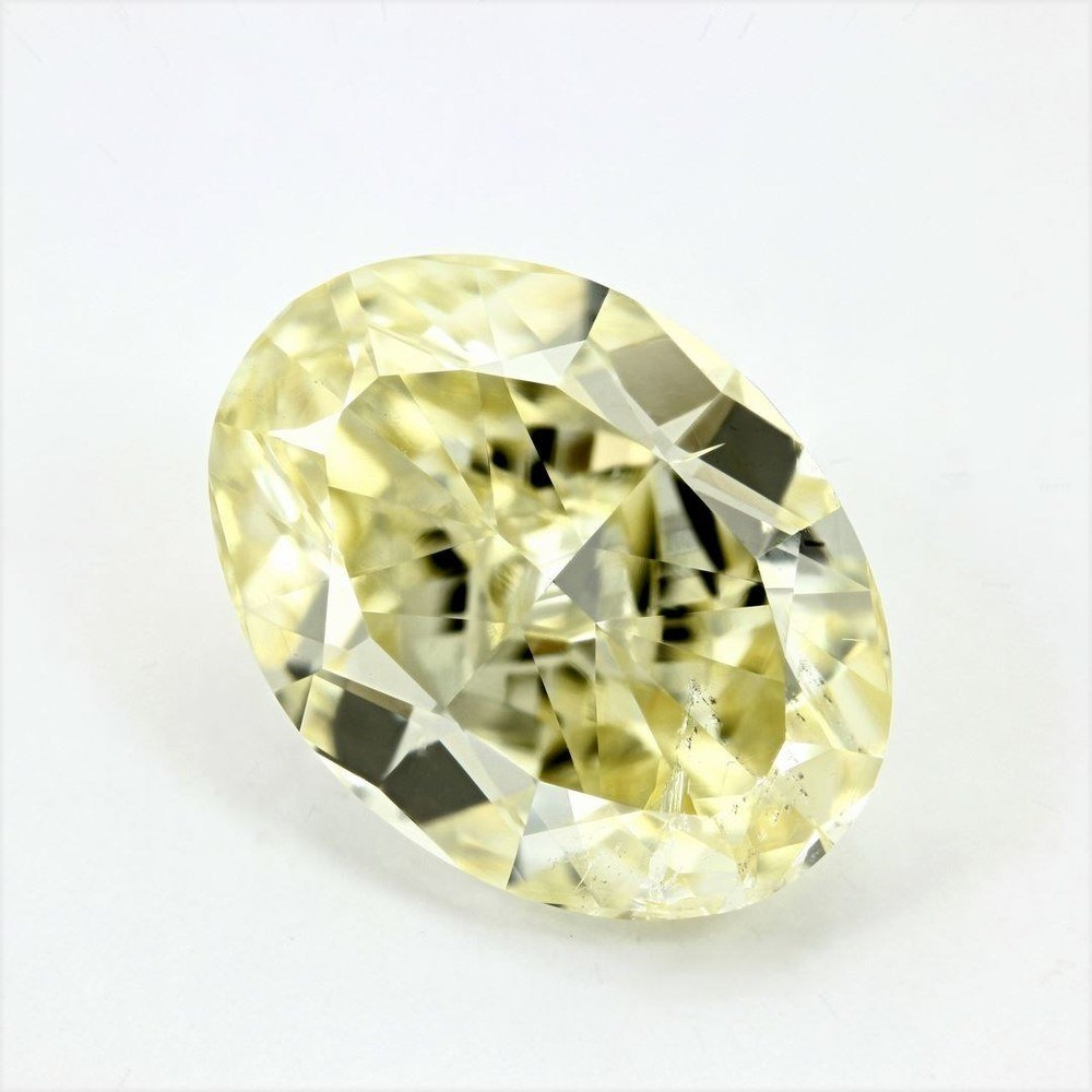 5.40 Carat Oval Loose Diamond, , SI2, Ideal, GIA Certified