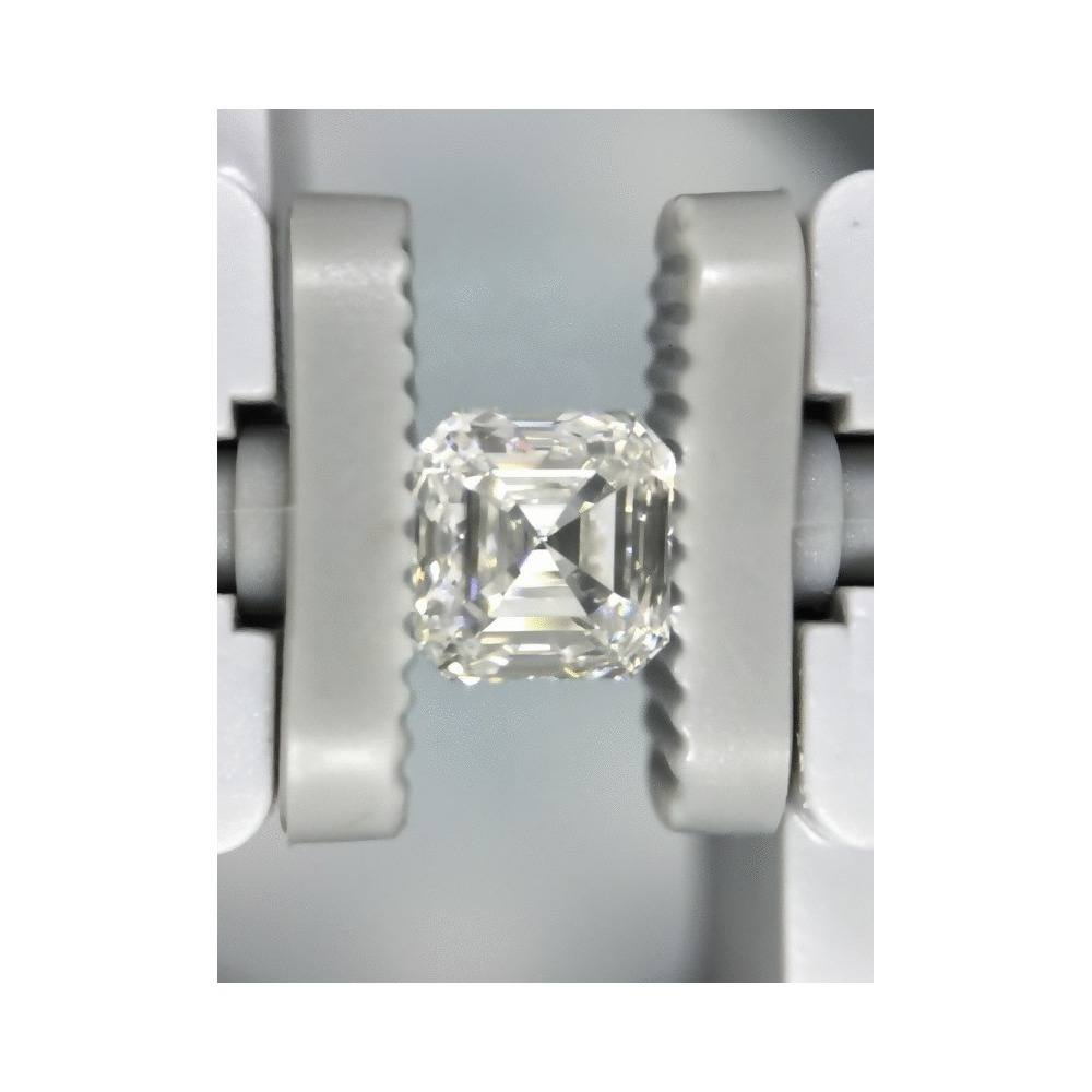 1.01 Carat Asscher Loose Diamond, E, VS1, Ideal, GIA Certified | Thumbnail