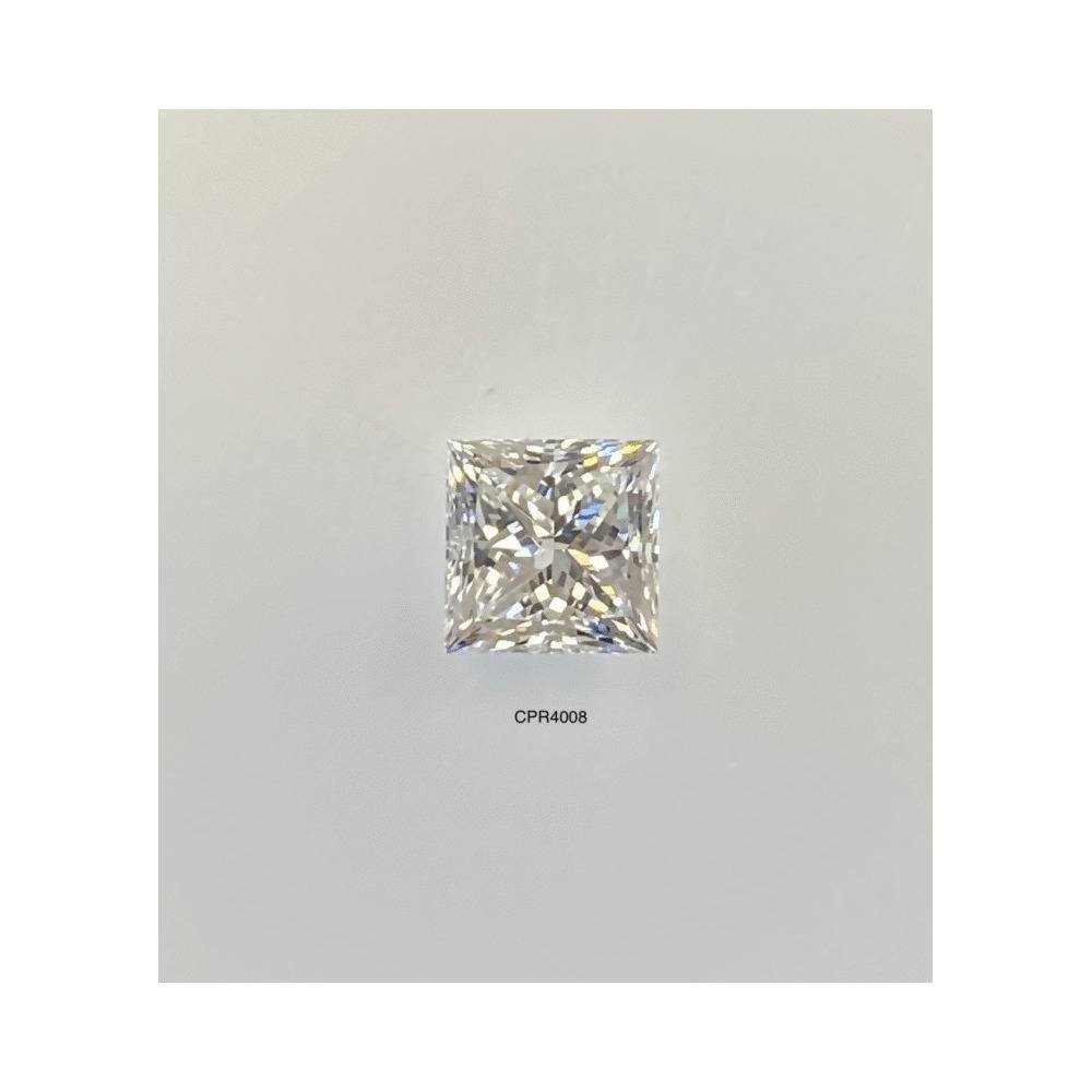 1.01 Carat Princess Loose Diamond, H, VS2, Super Ideal, GIA Certified