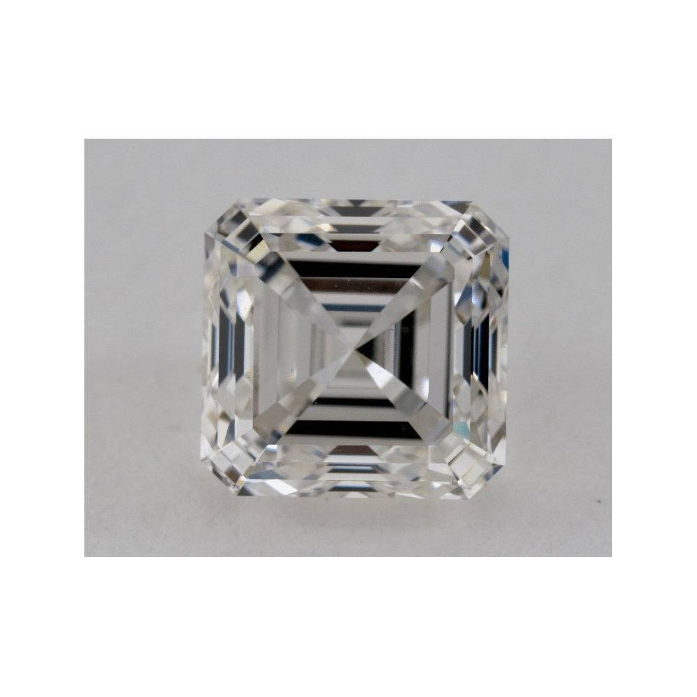 2.01 Carat Asscher Loose Diamond, H, VS1, Ideal, GIA Certified