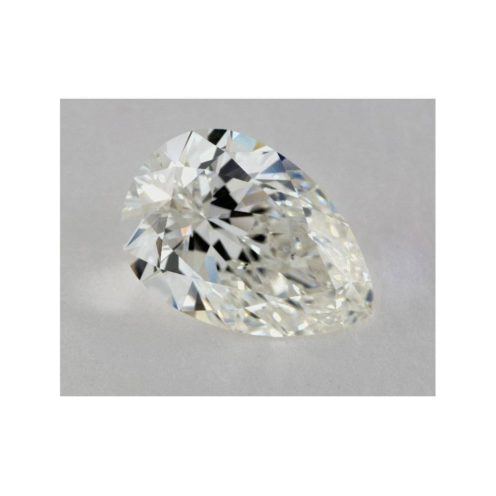5.27 Carat Pear Loose Diamond, J, SI1, Super Ideal, GIA Certified