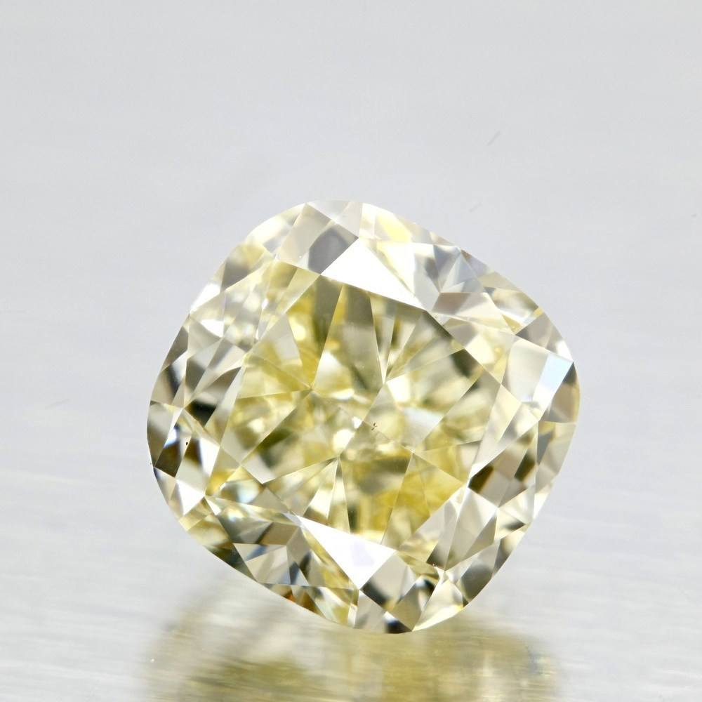 1.07 Carat Cushion Loose Diamond, Y - Z, VS2, Excellent, GIA Certified