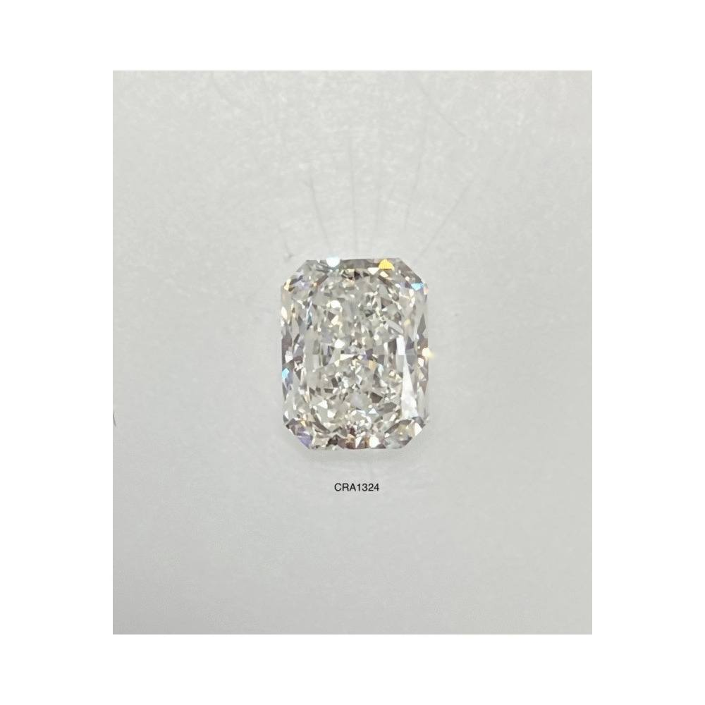 1.25 Carat Radiant Loose Diamond, H, SI2, Super Ideal, GIA Certified