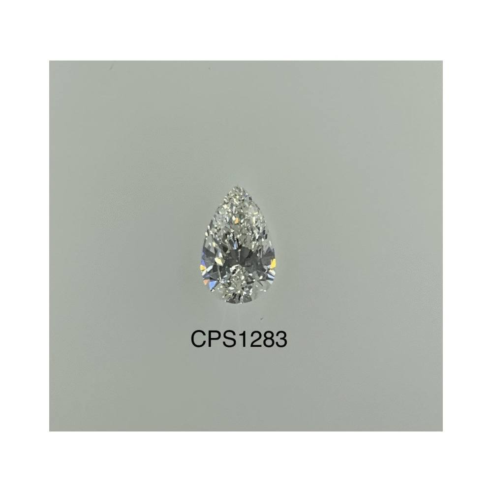 0.73 Carat Pear Loose Diamond, G, VS2, Super Ideal, GIA Certified | Thumbnail