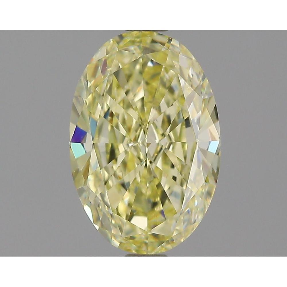 1.62 Carat Oval Loose Diamond, U-V, VVS1, Excellent, GIA Certified