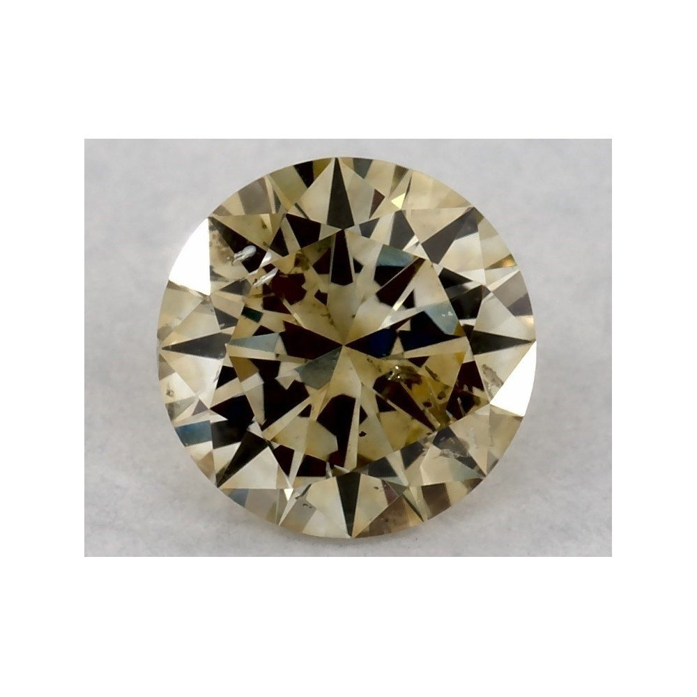 0.50 Carat Round Loose Diamond, FN, I1, Excellent, GIA Certified