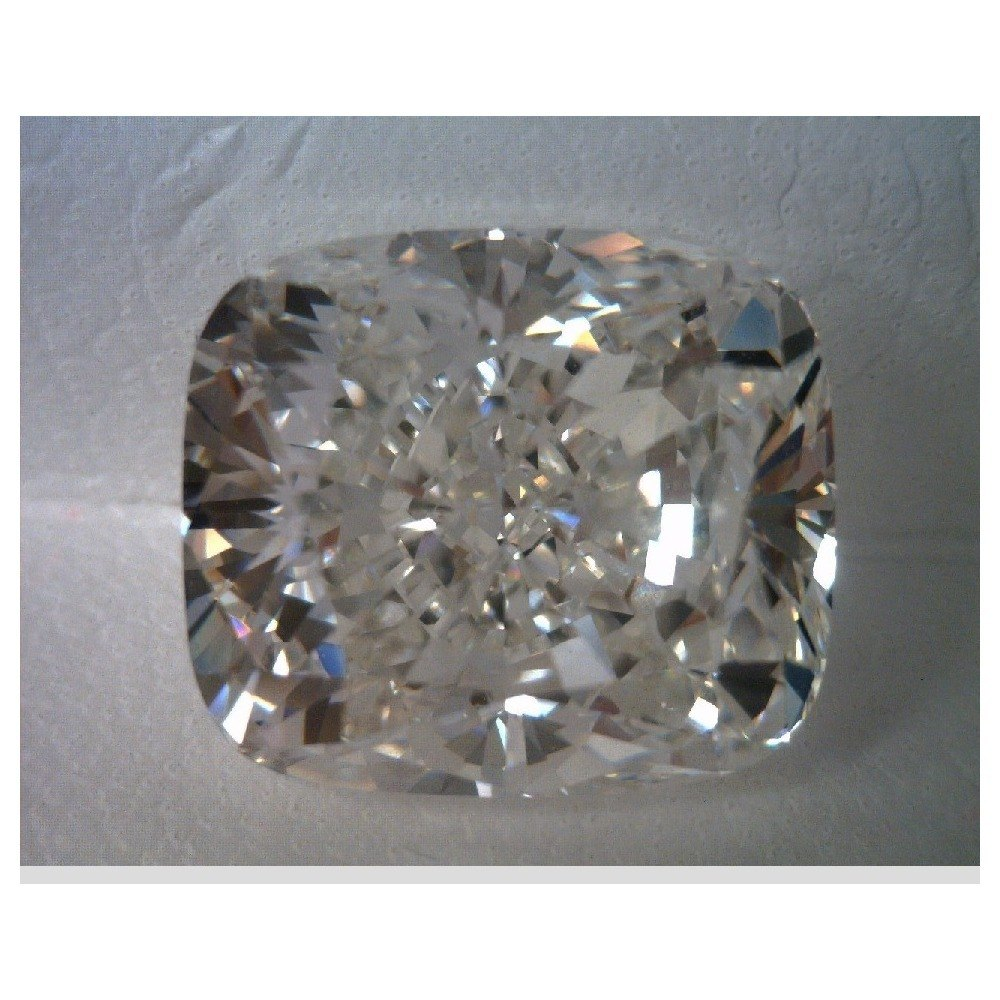 5.01 Carat Cushion Loose Diamond, F, VS1, Very Good, HRD Certified