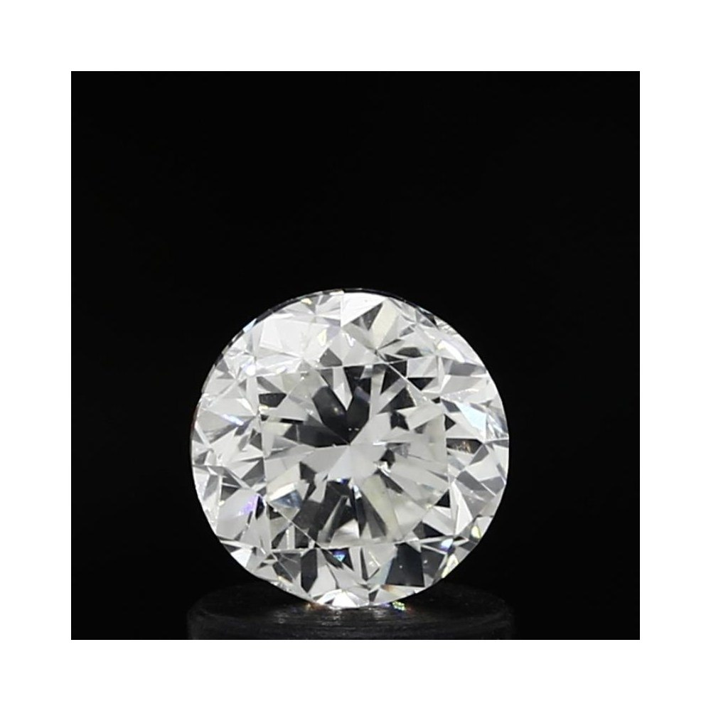 1.01 Carat Round Loose Diamond, H, VS2, Good, GIA Certified