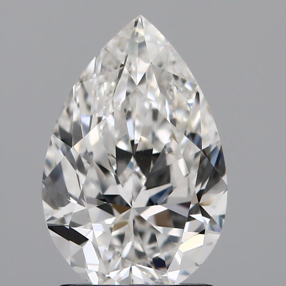 1.51 Carat Pear Loose Diamond, G, SI1, Super Ideal, GIA Certified