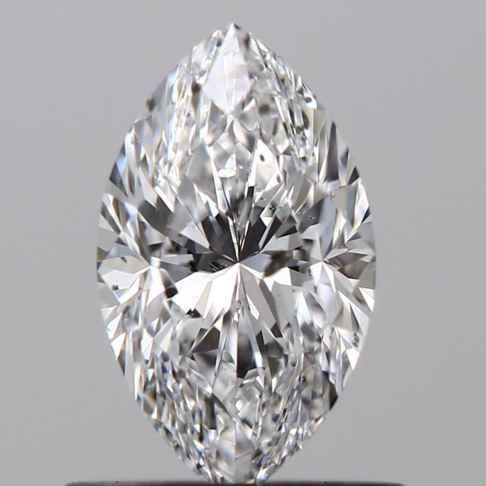 0.70 Carat Marquise Loose Diamond, D, I1, Excellent, GIA Certified