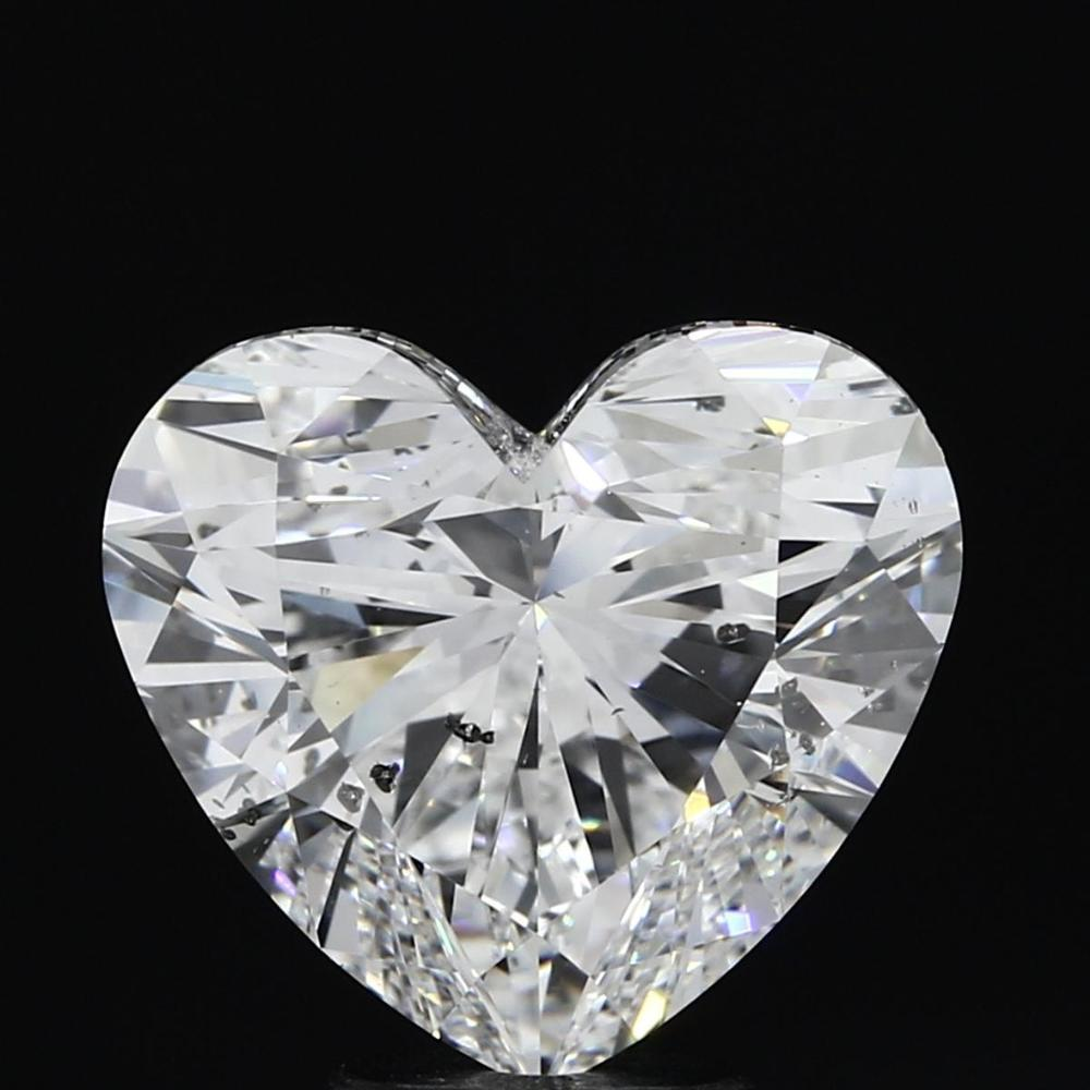 5.06 Carat Heart Loose Diamond, D, SI2, Super Ideal, GIA Certified