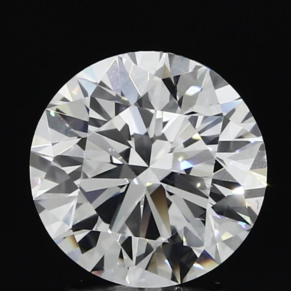 2.08 Carat Round Loose Diamond, E, VS1, Super Ideal, GIA Certified