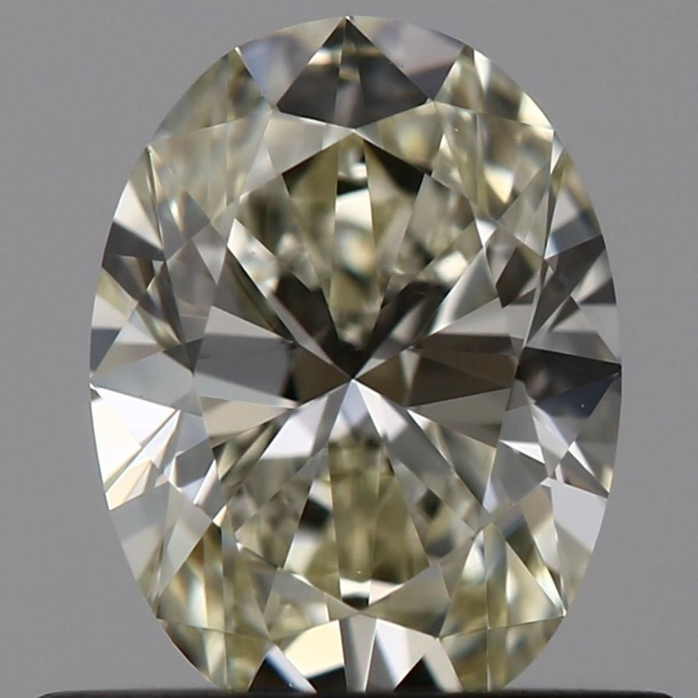 0.51 Carat Oval Loose Diamond, M, VVS1, Ideal, GIA Certified