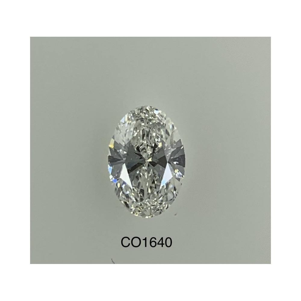 1.00 Carat Oval Loose Diamond, F, VS2, Ideal, GIA Certified | Thumbnail