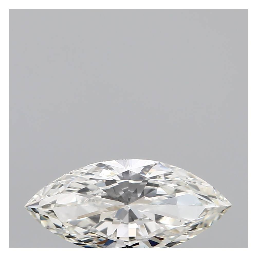 0.50 Carat Marquise Loose Diamond, I, VVS2, Ideal, GIA Certified