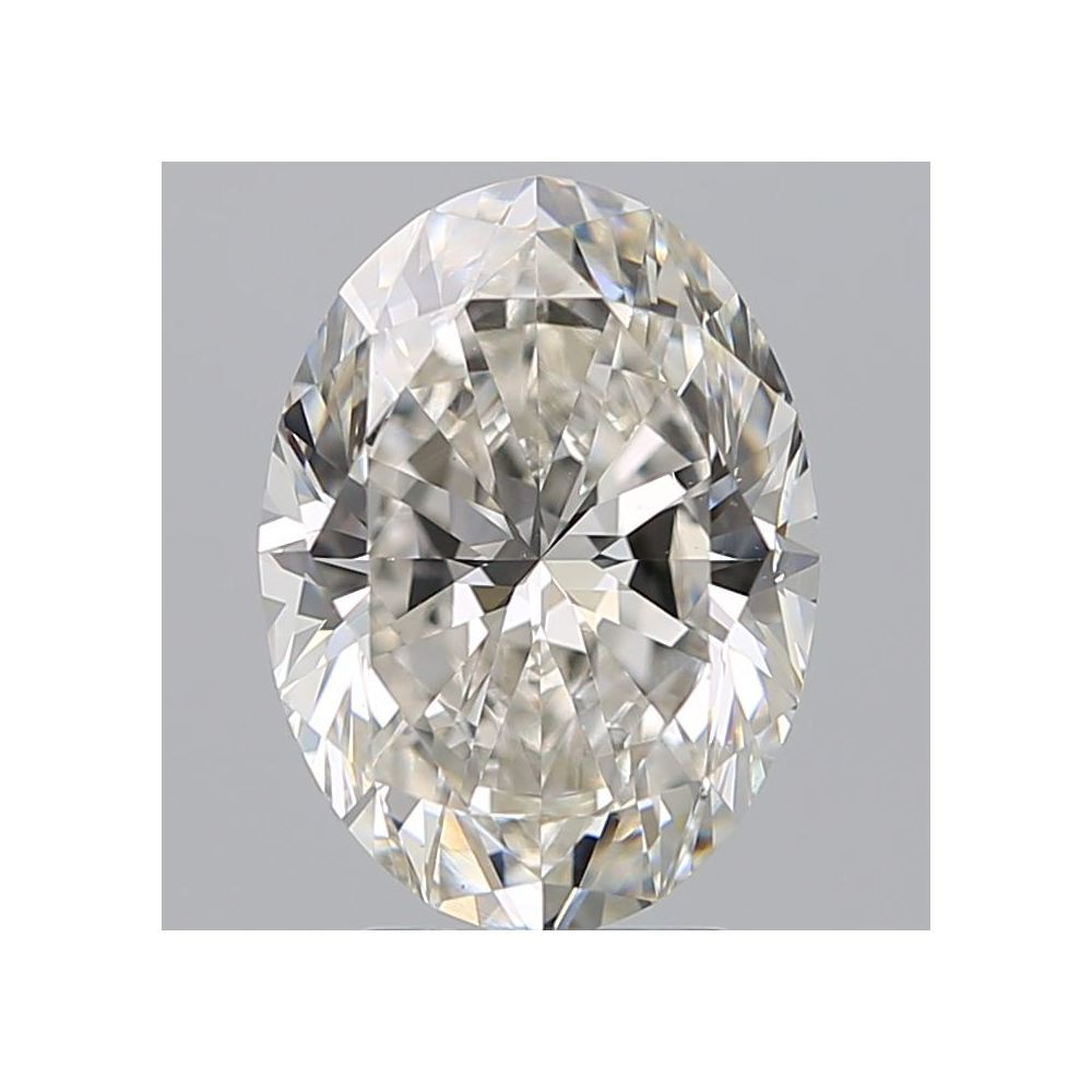 3.21 Carat Oval Loose Diamond, I, VS1, Super Ideal, GIA Certified