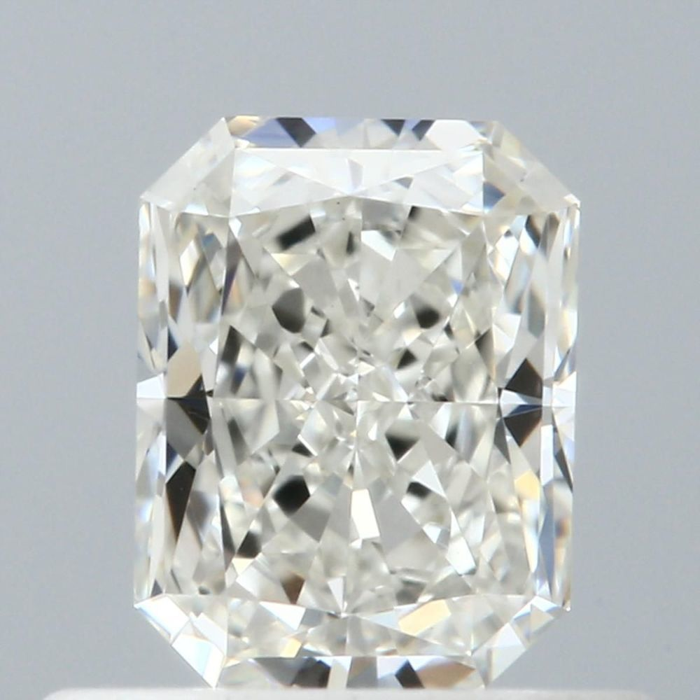 0.51 Carat Radiant Loose Diamond, J, VVS2, Ideal, GIA Certified