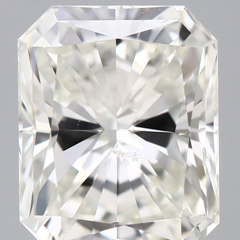 0.91 Carat Radiant Loose Diamond, I, SI2, Super Ideal, GIA Certified