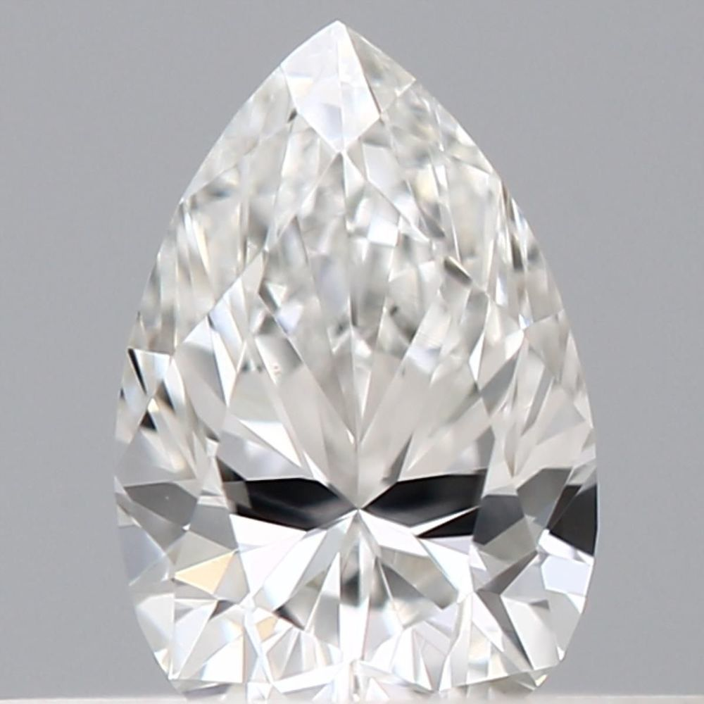 0.23 Carat Pear Loose Diamond, F, VS2, Excellent, GIA Certified