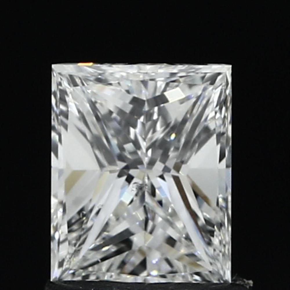 1.00 Carat Princess Loose Diamond, E, SI1, Very Good, GIA Certified