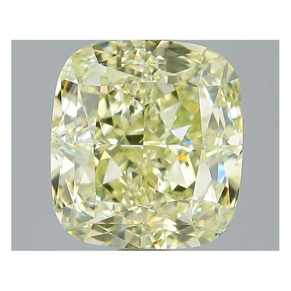 4.07 Carat Cushion Loose Diamond, Y - Z, VS2, Excellent, GIA Certified