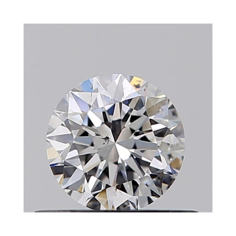 0.41 Carat Round Loose Diamond, D, SI1, Excellent, GIA Certified