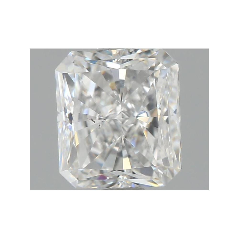 1.02 Carat Radiant Loose Diamond, E, VS2, Ideal, GIA Certified