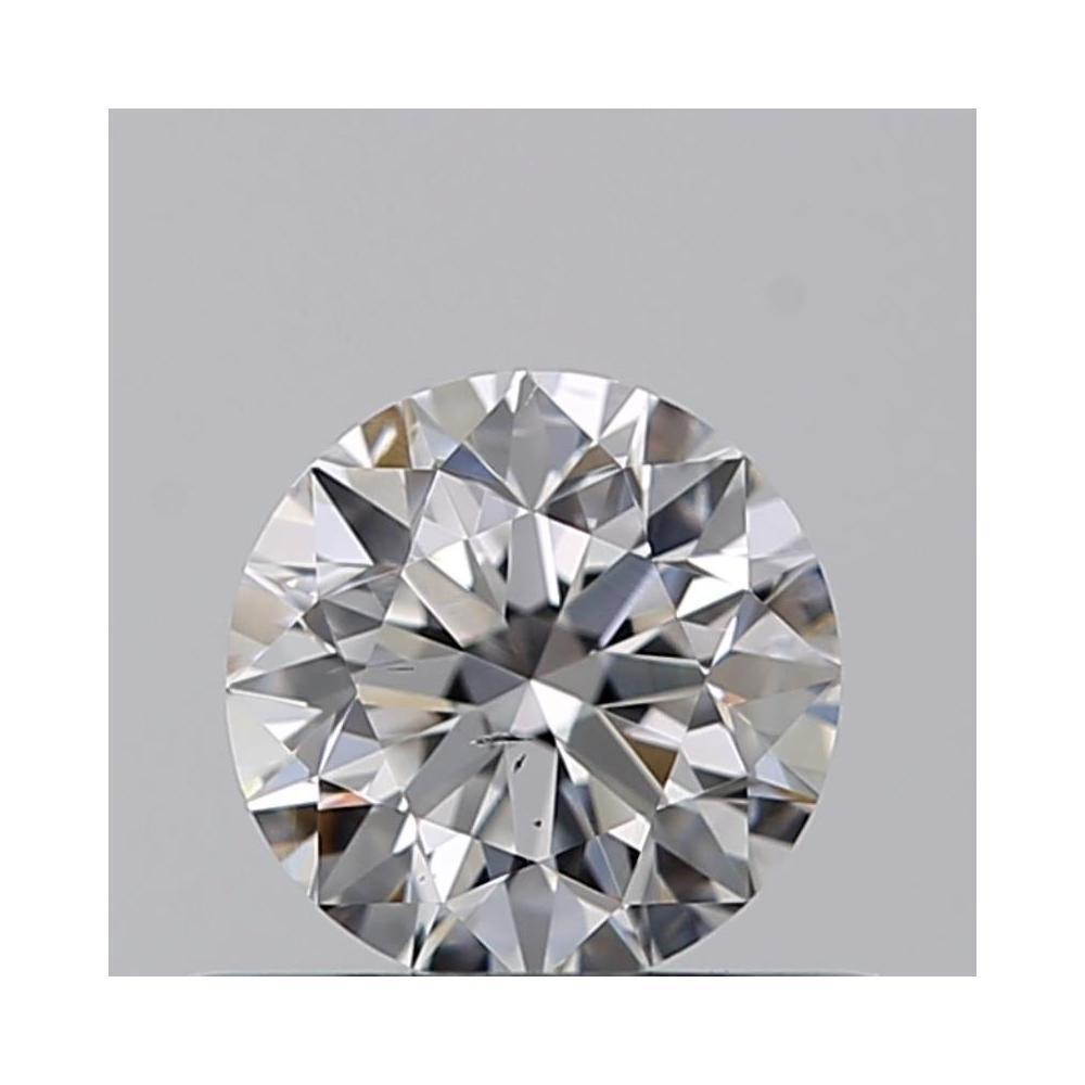 0.45 Carat Round Loose Diamond, D, SI1, Excellent, GIA Certified