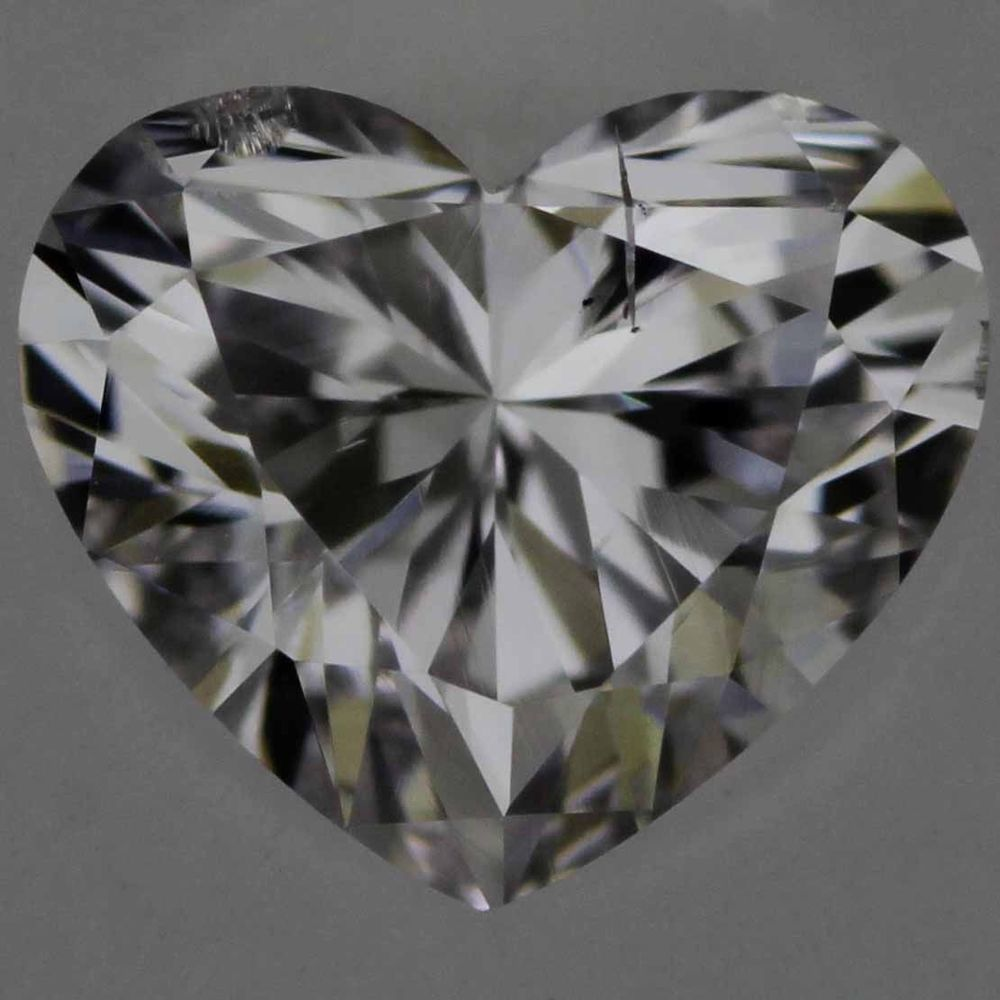 0.29 Carat Heart Loose Diamond, Faint Pink, SI2, Excellent, GIA Certified