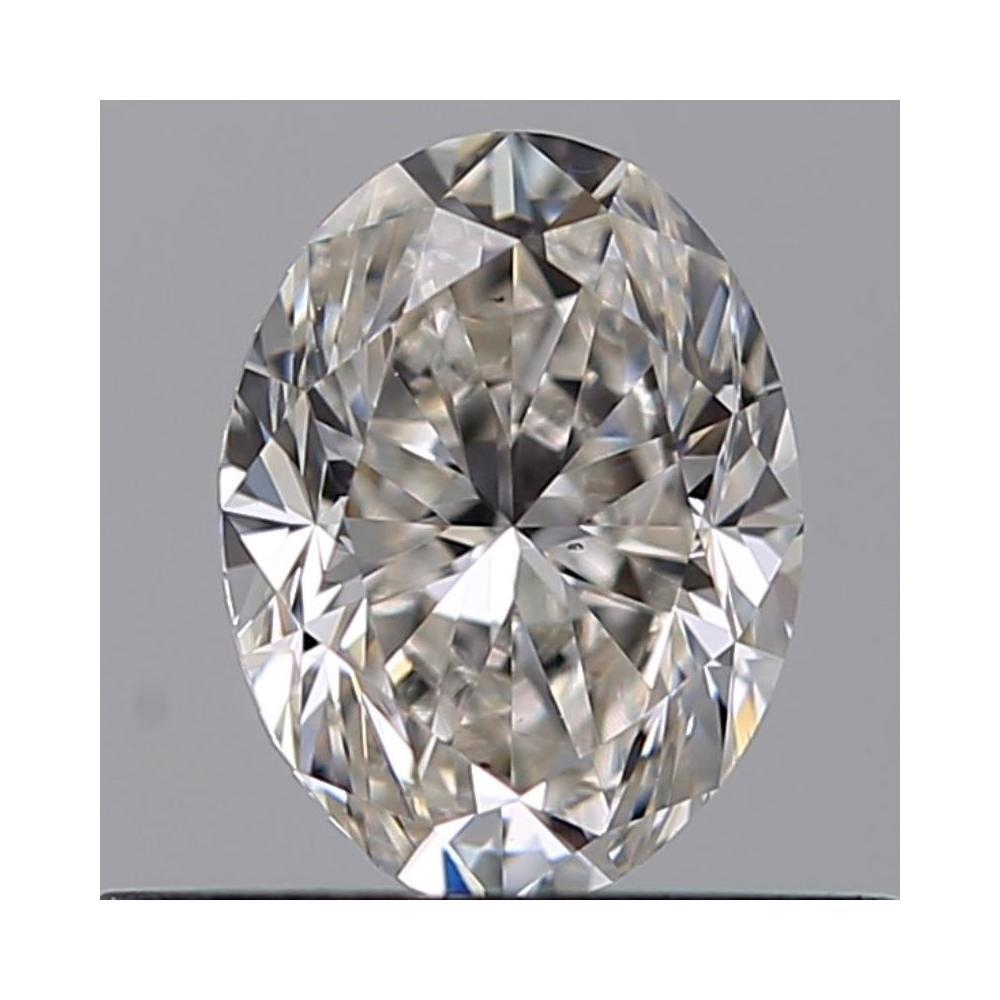 0.52 Carat Oval Loose Diamond, G, VS2, Excellent, GIA Certified