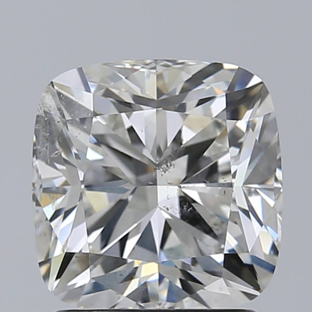 1.70 Carat Cushion Loose Diamond, G, SI2, Excellent, GIA Certified