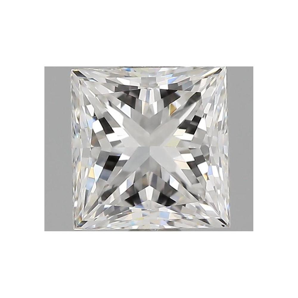 1.02 Carat Princess Loose Diamond, F, VVS2, Excellent, GIA Certified