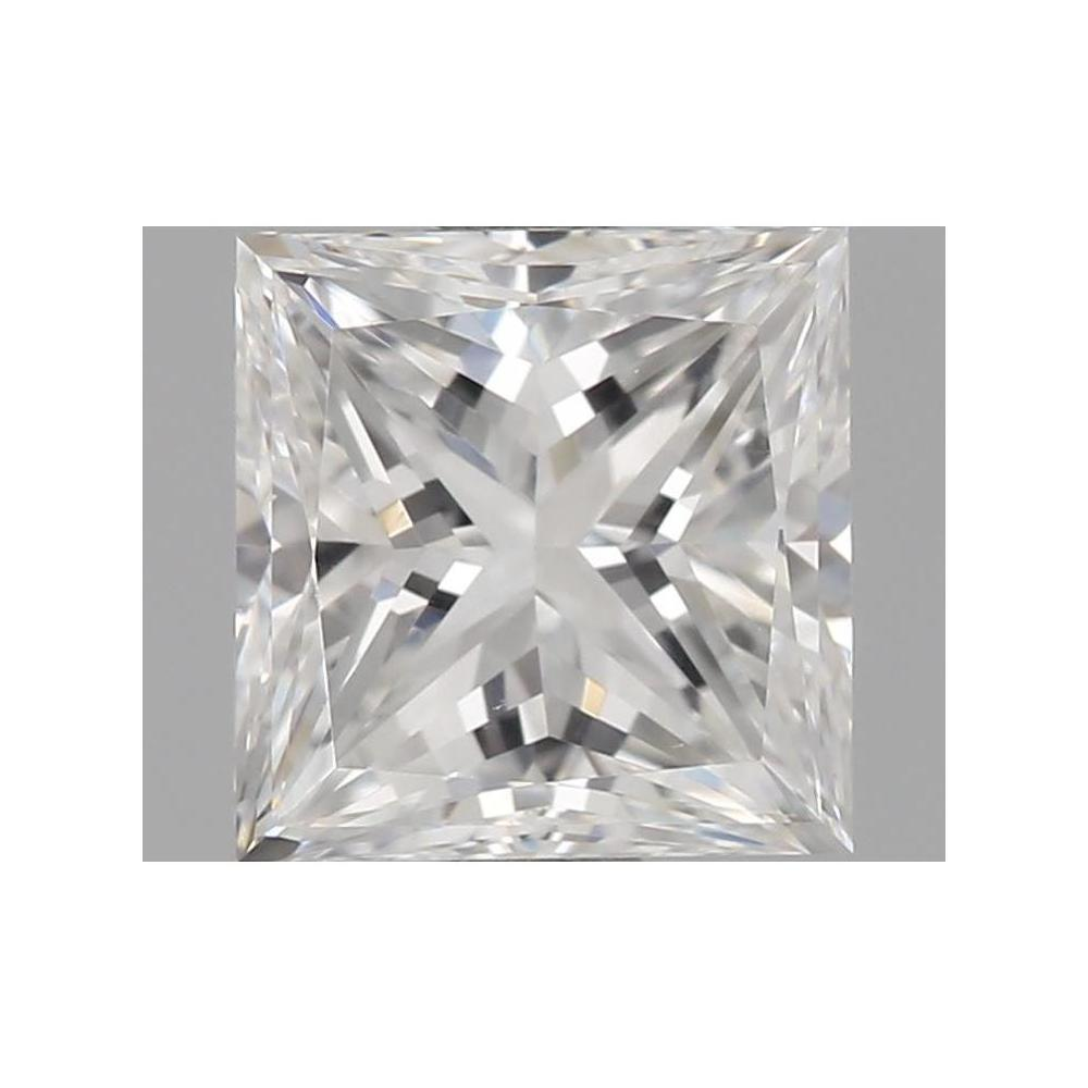 1.01 Carat Princess Loose Diamond, F, VVS2, Excellent, GIA Certified | Thumbnail
