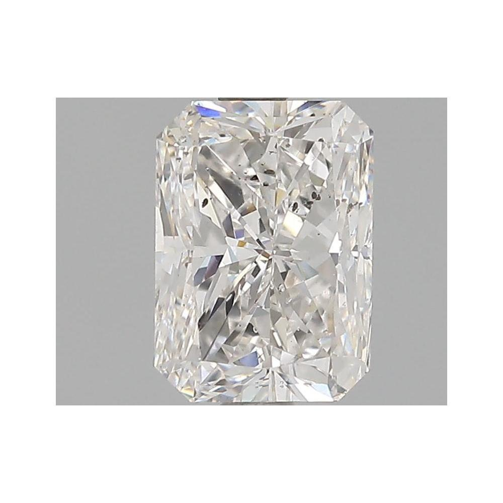 2.00 Carat Radiant Loose Diamond, F, SI1, Very Good, HRD Certified