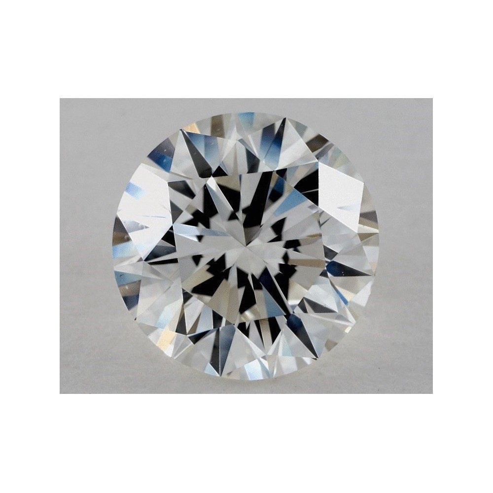 4.07 Carat Round Loose Diamond, H, VS2, Excellent, GIA Certified