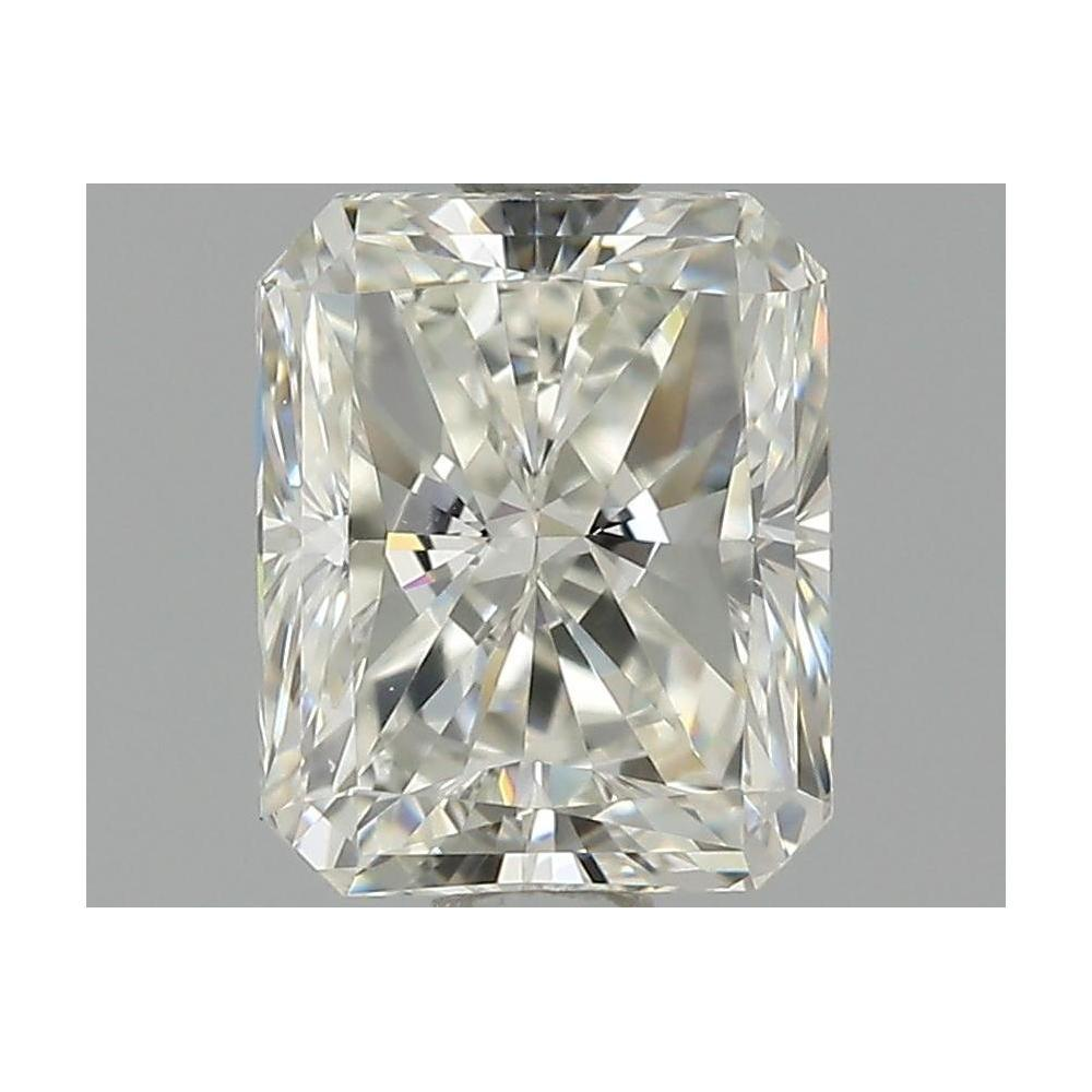 1.51 Carat Radiant Loose Diamond, H, VVS2, Very Good, HRD Certified | Thumbnail