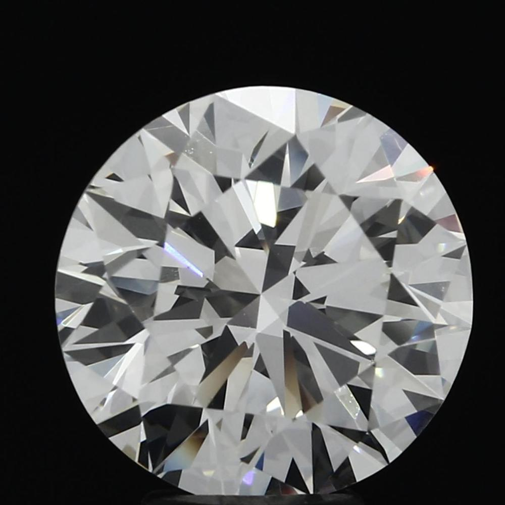 5.06 Carat Round Loose Diamond, I, IF, Super Ideal, HRD Certified | Thumbnail