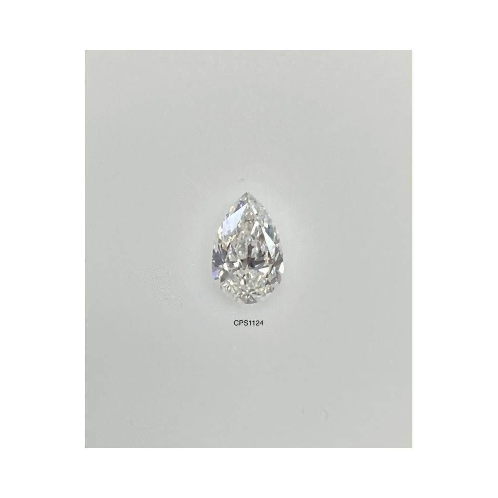 0.50 Carat Pear Loose Diamond, F, I1, Excellent, GIA Certified
