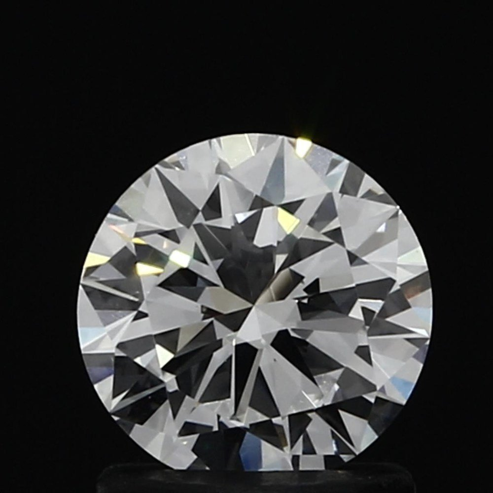 1.01 Carat Round Loose Diamond, F, IF, Very Good, GIA Certified
