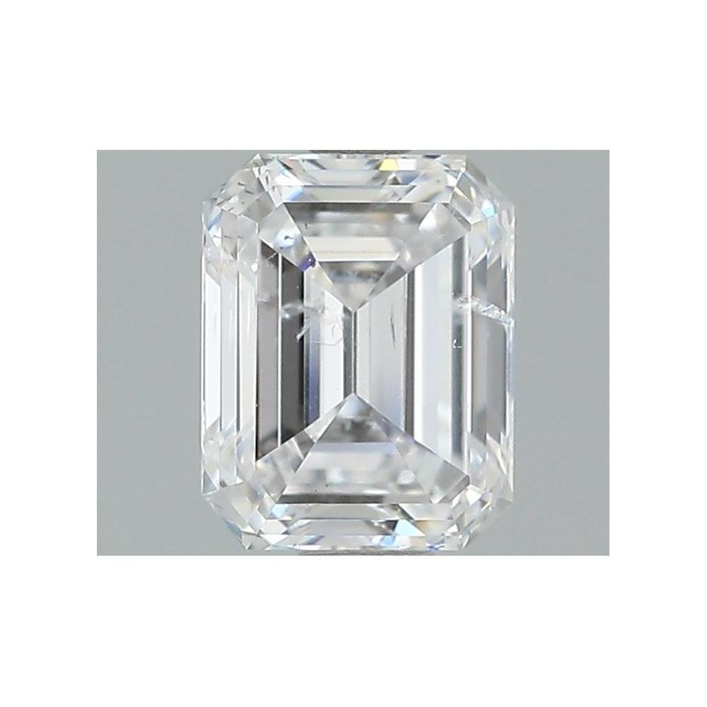 1.04 Carat Emerald Loose Diamond, D, I1, Super Ideal, GIA Certified