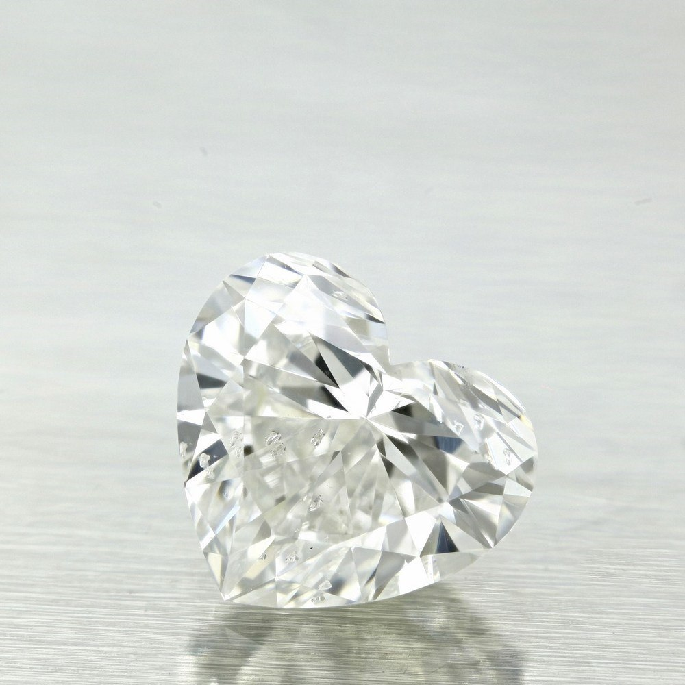 0.91 Carat Heart Loose Diamond, F, SI2, Ideal, GIA Certified