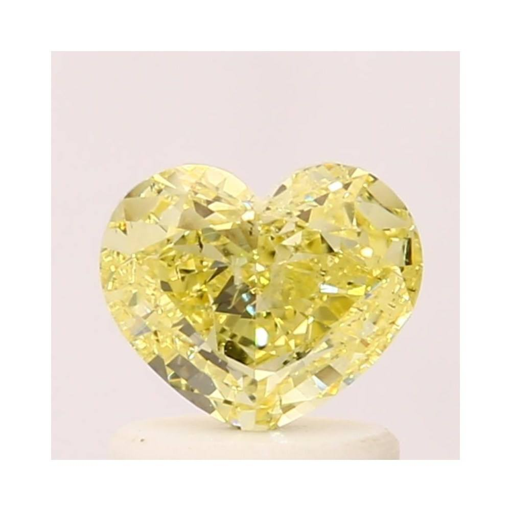 0.74 Carat Heart Loose Diamond, , SI2, Good, GIA Certified