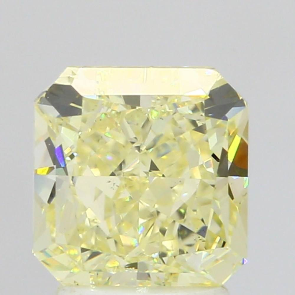 2.71 Carat Radiant Loose Diamond, Y - Z, VS2, Ideal, GIA Certified | Thumbnail