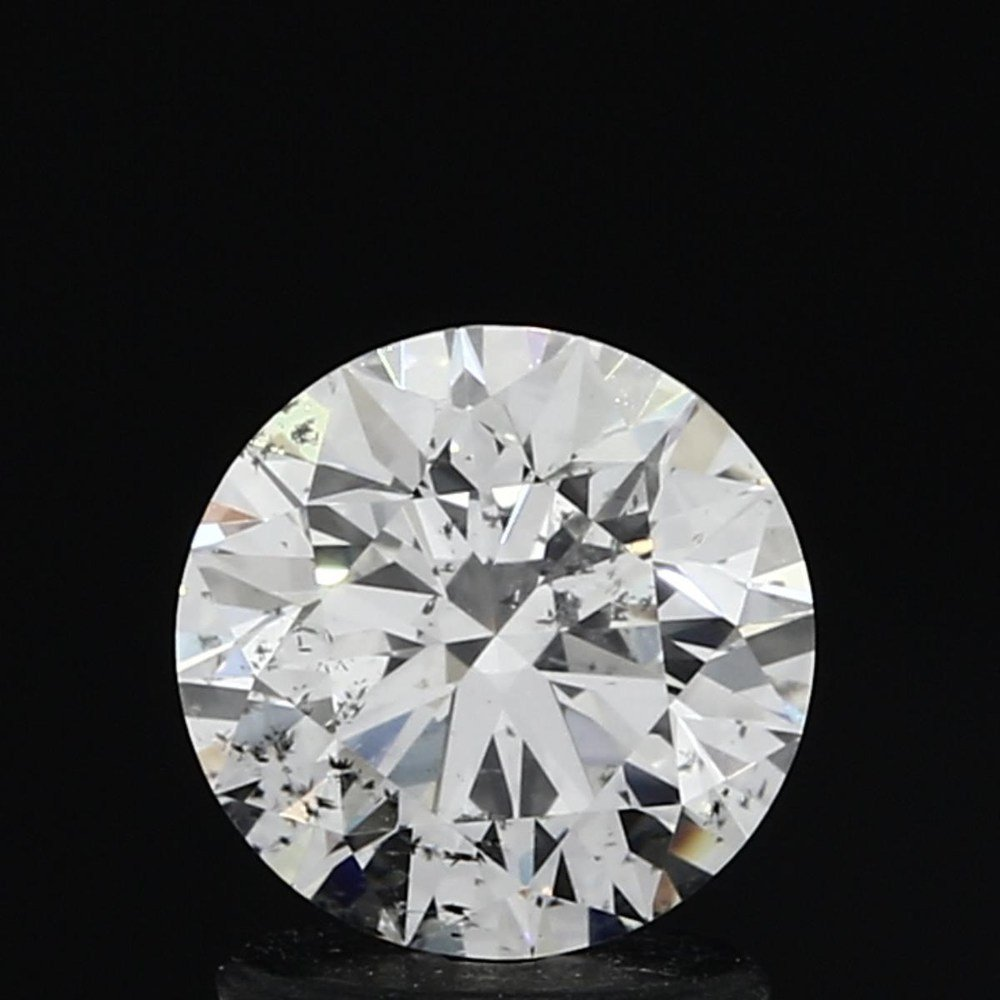 1.23 Carat Round Loose Diamond, I, SI2, Super Ideal, GIA Certified