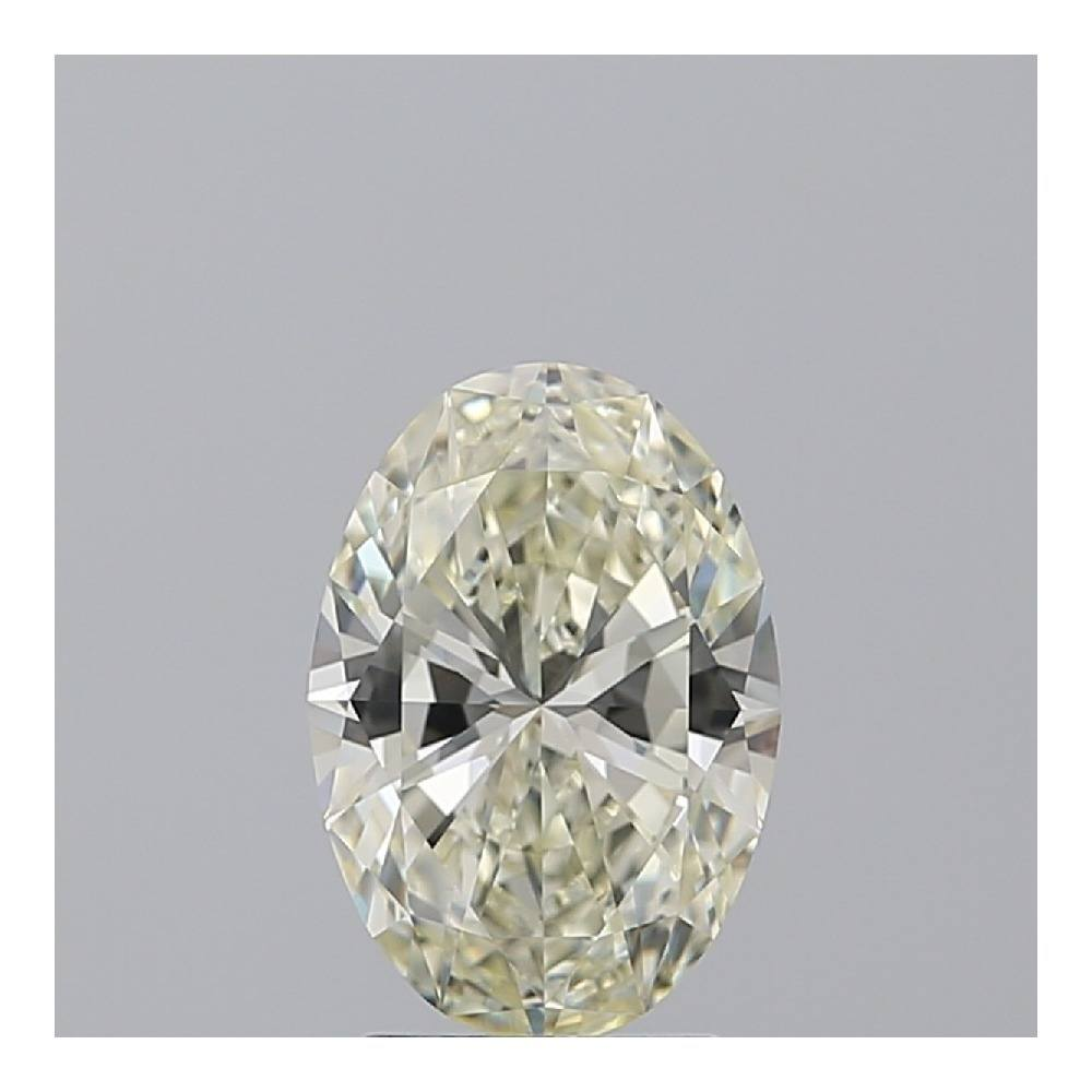 2.21 Carat Oval Loose Diamond, L, VVS1, Super Ideal, GIA Certified | Thumbnail