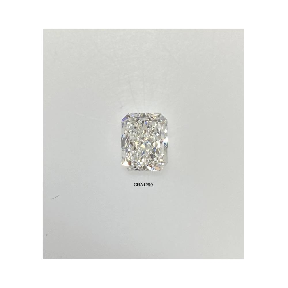0.97 Carat Radiant Loose Diamond, H, SI1, Super Ideal, GIA Certified